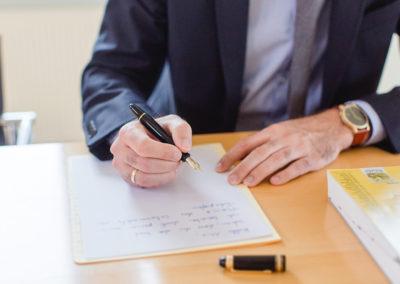 Kündigung eines Mietvertrages
